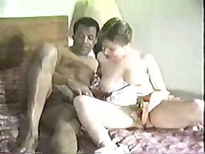 White wife with dark masculine -  Dilettante Interracial Homemade