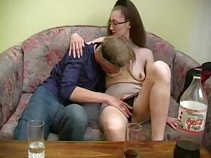 Russian Mommy And Young 082