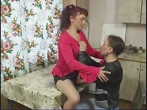 Russian Mommy Acquires Screwed by Youthful Boyish man by snahbrandy