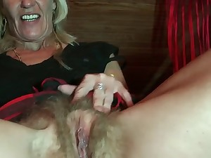 Unshaved Blond Older by TROC