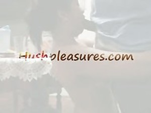 Older Oriental Wife Giving DEEPTHROAT Oral-service  HushPleasures.com