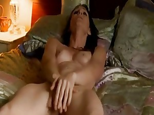 Milf Rubs Her Snatch To Tremendous Orgasms
