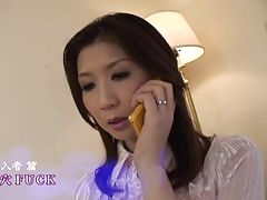 Wicked japanese mommy receives DP by airliner1